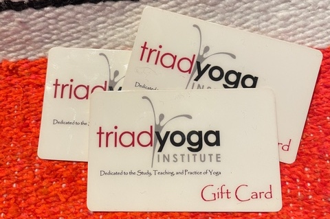 Give the gift of Yoga with Gift Cards from TYI